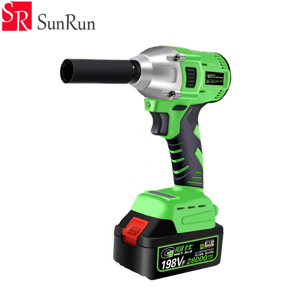 Free shipping 1Set Brushless electric wrench lithium battery multifunction woodworking socket wrench impact electric wrench tenwa20v brushless electric impact wrench cordless rechargeable lithium battery socket impact digital electric wrench