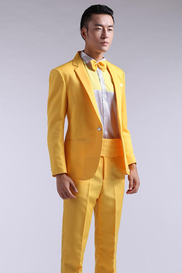 Online Get Cheap Yellow Slim Fit Suit -Aliexpress.com | Alibaba Group
