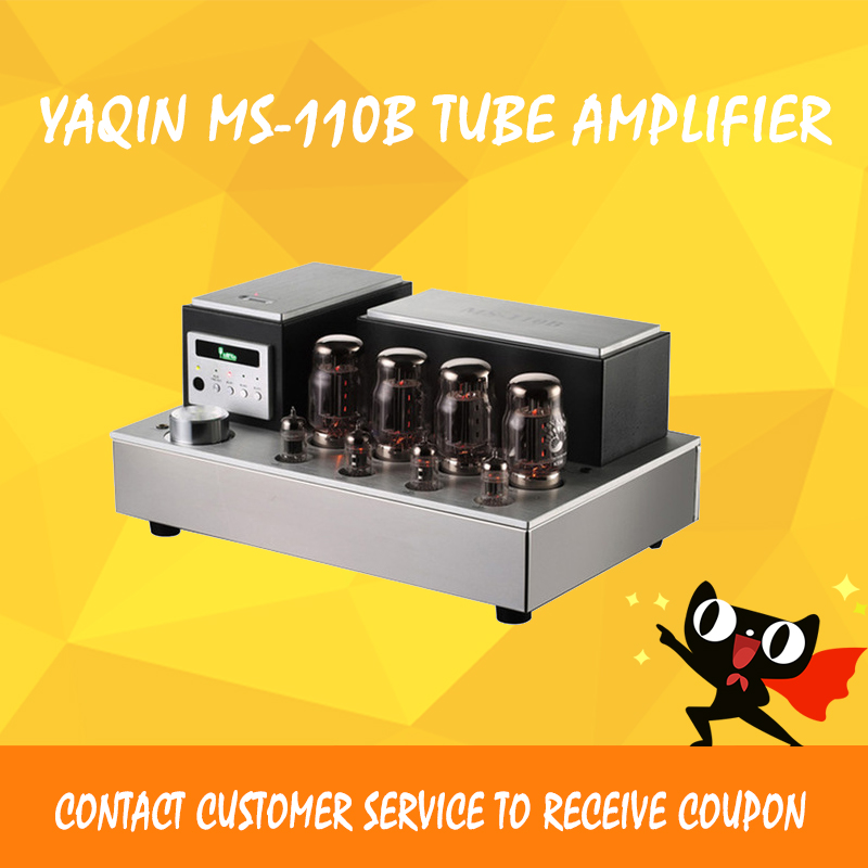 ASD Dilvpoetry YaQin MS-110B KT88 HIFI EXQUIS lamp amps linear remote tube amplifier free shipping yaqin ms 110b vacuum tube integrated amplifier brand new