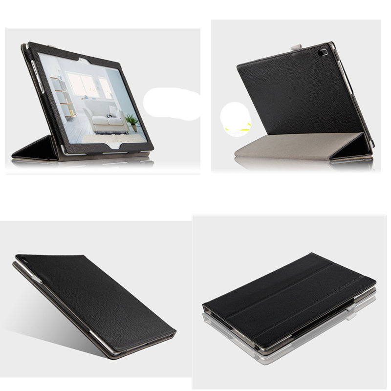 Bussiness Genuine leather Case For Lenovo Tab 4 10 Plus TB-X704F tb-X704n 10.1 inch Case Folio Stand Book Cover Cases new print luxury magnetic folio stand fashion prints flower leather case cover for lenovo tab 3 8 plus tab3 p8 tb 8703f tb 8703n