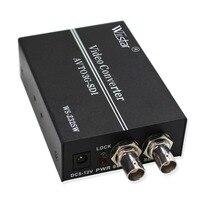 Wiistar AV to SDI Converter SD HD 3G SDI RCA to SDI BNC Audio Video Adapter for HDTV Monitor