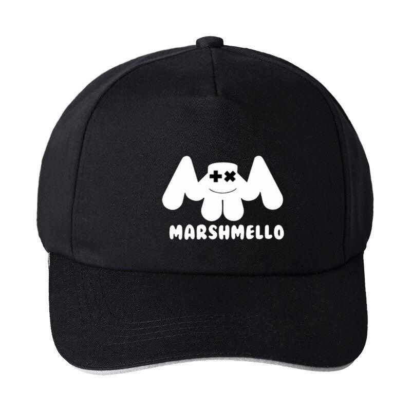 bf52e801609 kpop marshmello face men baseball cap casual homme cap kpop Black Pink Hat  Snapback Visor Hat Women-in Baseball Caps from Apparel Accessories on ...