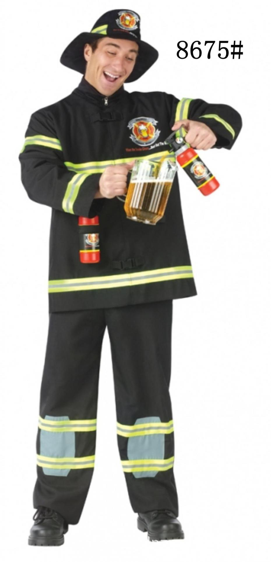 carnival halloween cosplay costume men firemen costumes firefighters cosplay costumes adult game uniformschina - Fireman Halloween