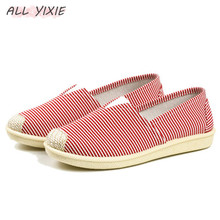 AII YIXIE 2019 New Fashion Ladies Canvas Sports Shoes Fisherman Shoes Lazy Low Cut Casual Shoes Breathable Female Student Shoes the new lazy shoes a pedal female student harajuku style plaid canvas shoes