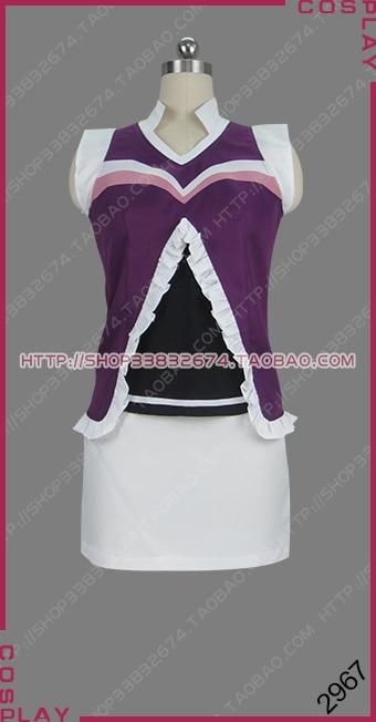He Badminton Play of Ayano Hanesaki! Kaoruko Serigaya Outfit Anime Cosplay Costume S002