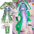 DATE A LIVE Yoshino Halloween Dress Uniform Elves Outfit Anime Cosplay Costumes