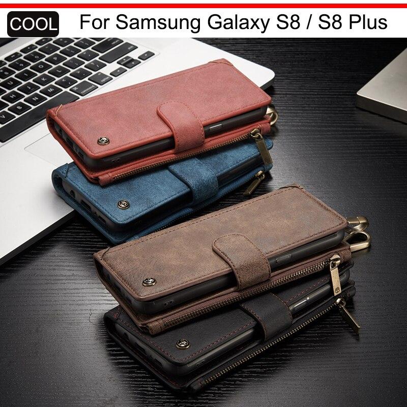 bilder für CaseMe Mobile Buch Abdeckung Für Samsung Galaxy S8/S8 Plus luxus Brieftasche Flip Leder Schutzhülle Für Samsung Galaxy S8 Plus Telefon fall