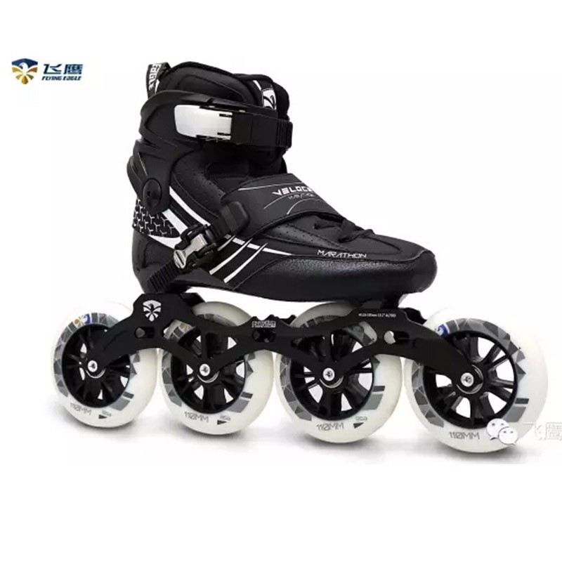 letu in-line Skates Falcon Adult Roller Skates Slalom Free Skating Lesson