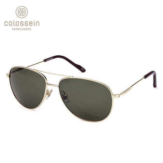 6990e6ed5a COLOSSEIN Polarized Sunglasses Women Fashion Retro Metal Oval Gradient Frame  Lens Men Vintage Eyewear Sun Glasses UV400