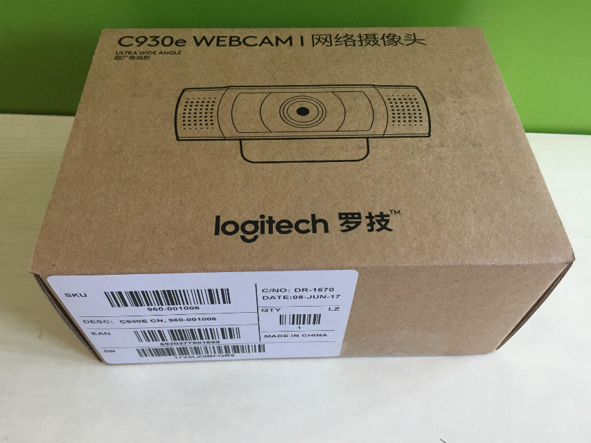 10pcs/lot New Genuine 100% original Logitech C930E Webcam Free shipping цена