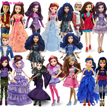 Genuine Josephina High Quality Descendants Maleficent Dolls Fashion Joints Cartoon Model Figure Toy for Girls Gift Classic Toys