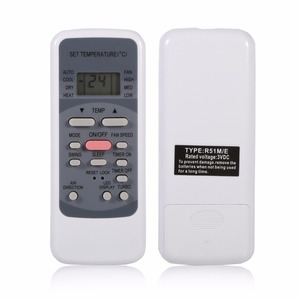 Image 4 - Air Conditioner Remote Control Replacement For Midea R51M/E for Midea R51 Series R51/E R51/CE R51M/CE R51D/E R51M/BGE R51M/BGE