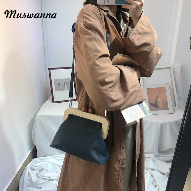 Simple Retr Pu Soft Leather Clip Bag Luxury Women Bag Female Shoulder Messenger Bag Evening Clutch Purse Bolso femenino 2019