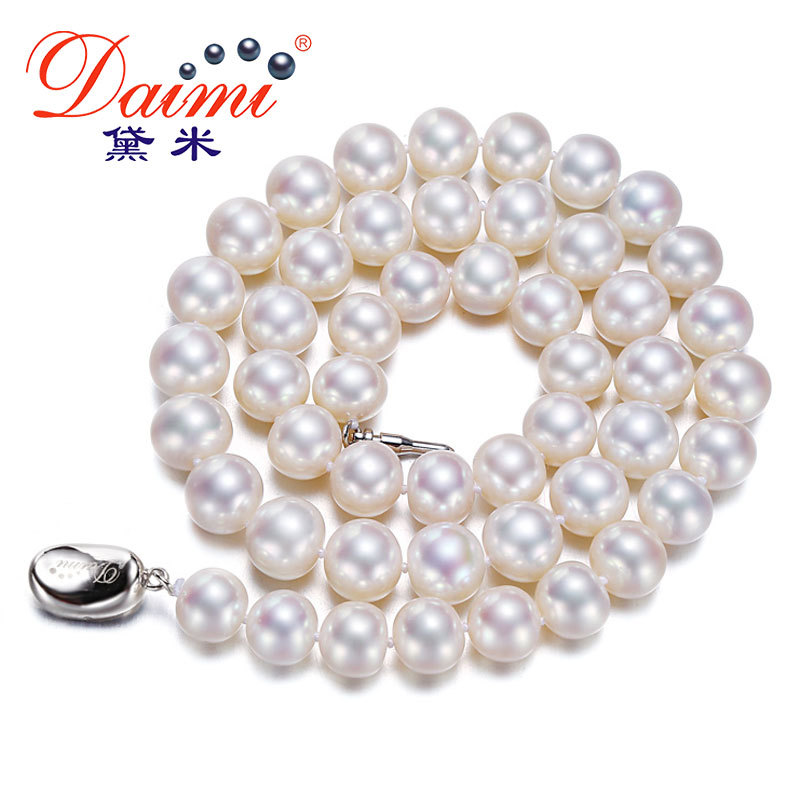 [DAIMI] 100% Natural Freshwater Pearl Necklace 9-10mm High Quality Brand Jewelry Free Shipping DREAM HEART free shipping slc3011m sop 100 page 9