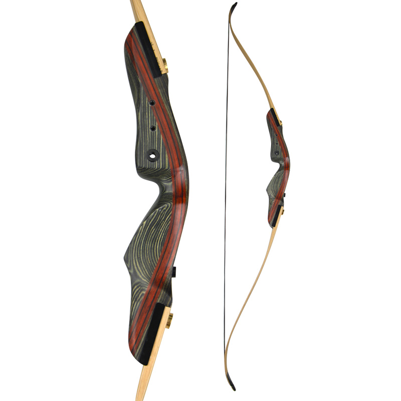 Image 3 - 1Set 62inch Archery Recurve Bow With Stabilizer 25 50lbs Draw Weight Right Hand Longbow Hunting Bow Shooting Hunting Accessories-in Bow & Arrow from Sports & Entertainment