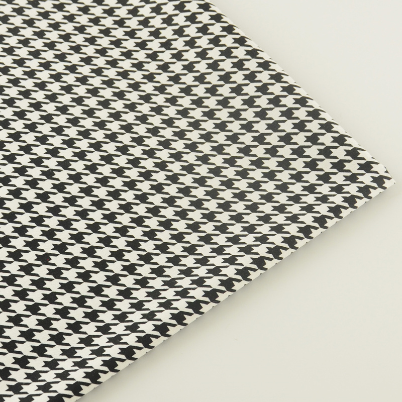 Ropa de cama de Scrapbooking Negro Rejilla Aves Designs 100% Quilting Patchwork