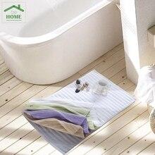 2016 Five-star hotel towel cotton bath mats thicker non-slip mats doormat bath Household soft cotton mat 50 * 80CM