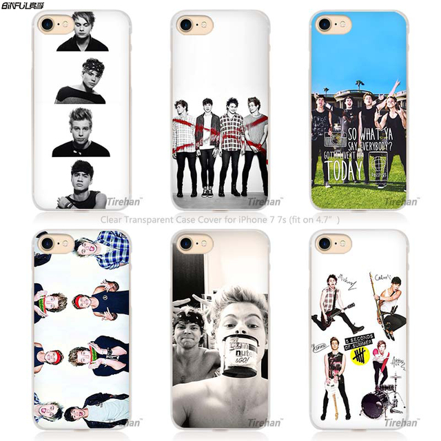5 seconds of summer coque iphone 7