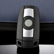New Smart Key Shell 3 Button Remote Car Key Case KR55WK49127 123 For BMW 328i 330i 335i 525i 528i 530i 535i 550i Replacement Fob replacement 2 button transponder smart key casing for bmw mini