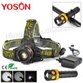 100% High Quality LED Bicycle Bike Flash Light XML T6 HeadLight Headlamp Head Lamp Flashlight 3 IN 1 Lampe Frontale LED+Charger