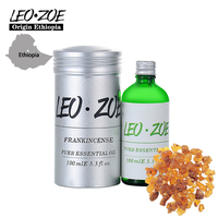 Well Known Brand LEOZOE Frankincense Essential Oil Certificate Of Origin Ethiopia Authentication Frankincense Oil 100ML