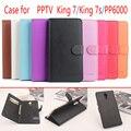 Pptv rei 7 rei pp6000 7 s case flip magnético de couro de luxo case capa para pptv rei 7 carteira com stand & cartão Slots