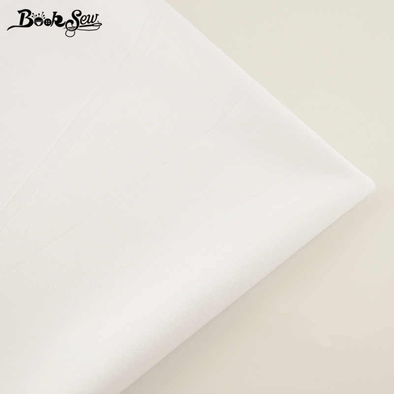 New 100% Cotton Fabric White Color Twill Fabric Home Textile Material Bed Sheet Soft Cloth Quilting Tecido For Baby Beding Dolls