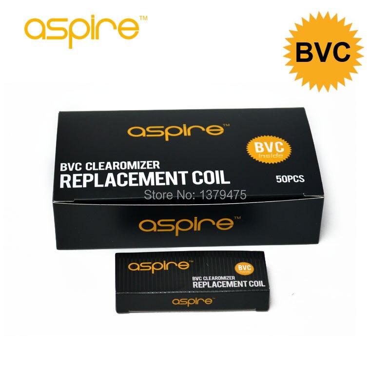 100pcs lot Wholesale Original Aspire BVC Core Atomizer Coil 1 6 1 8 2 1ohm Aspire