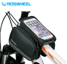 Roswheel 2016 Cycling Accessories Waterproof Bicycle Smartphone Saddle Bag For Bike Accesorios
