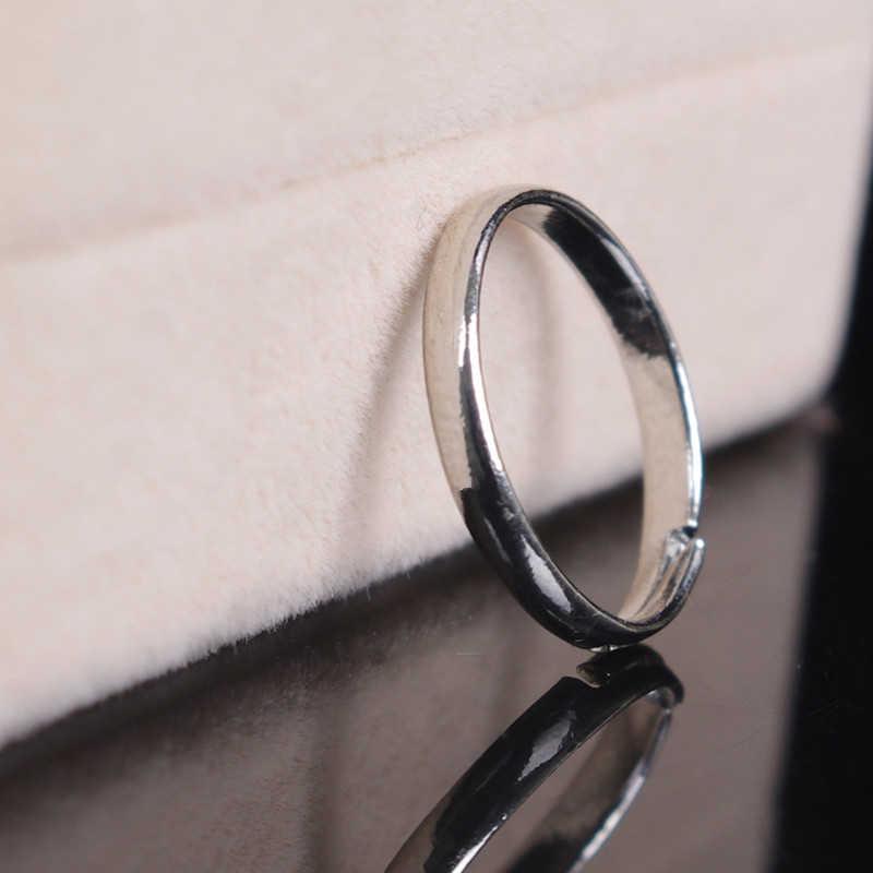 הגעה לניו חמה סגנון JETTINGBUY Velishy1PCS חוף תכשיטי רגל אופנה פשוט כסף זהב מתכת תכשיטי טבעות אצבע להתאמה