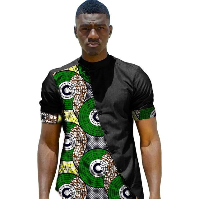 ankara patchwork dress pattern