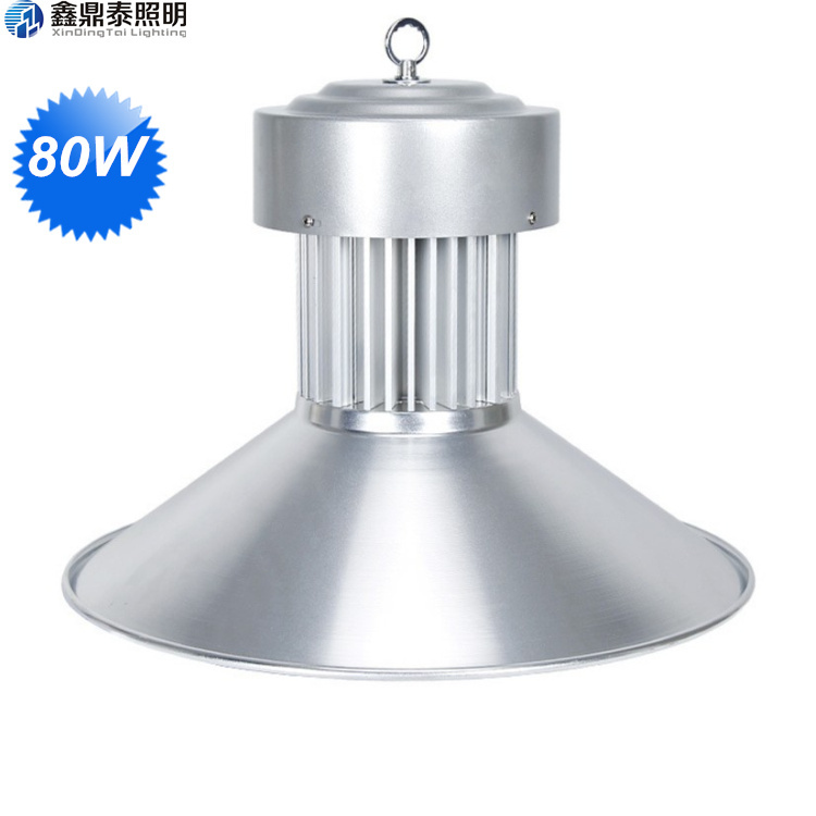 80W LED High Bay Light Bridgelux led chip AC85-265V LED Driver Lamp Industrial Lighting Fixture ac85 265v 100w led high bay light 100w led warehouse lamp cob bridgelux chip 1 100w led industrial lighting lamp