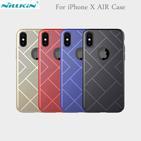 Nillkin Lightweight Heat Release Dissipation Phone Case For IPhone X Case Cover Thin Air Feel Slim