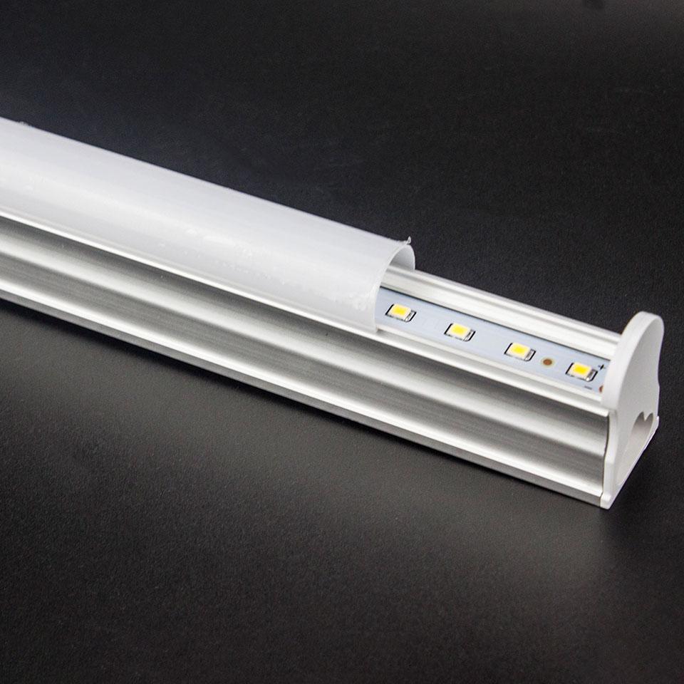 1pcs lot LED Tube T5 6W 10W 29cm 57cm Led Bulbs Tube 24pcs 48pcs led lampada AC220V SMD2835 led lights for home lighting in LED Bulbs Tubes from Lights Lighting