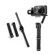 Zhiyun Crane M Gimbal Stabilizer with Extended Handle Bar Dual Handheld Grip Bracket Kit for 650g