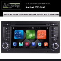 7 Inch Android 6 0 Car DVD Player For Audi A4 S4 2003 2008 Touchscreen Audio