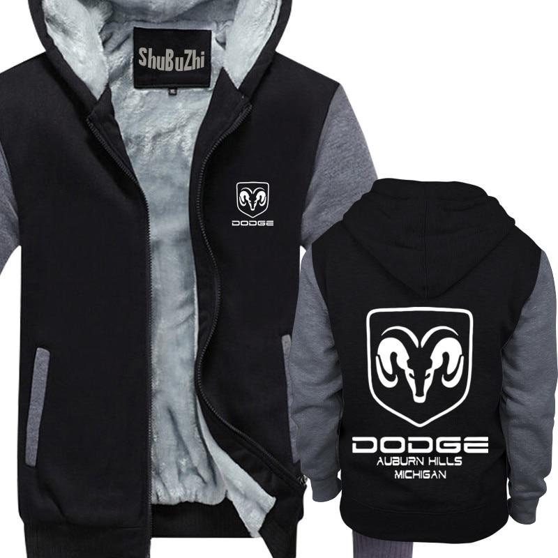542fba55 winter men thick hoodies male fleece coat Dodge Ram Truck Full Icon  shubuzhi man super warm jacket euro size drop shipping