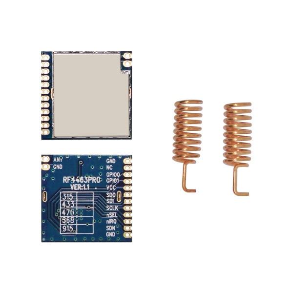 4 pçs / lote 915MHz | Módulo Si4463 RF de 868MHz, transceptor - Equipamento de comunicação - Foto 2