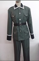 APH Axis Powers Hot Anime Cosplay Man Woman Cos Germany Ludwig Army uniforms Halloween Cosplay Costume