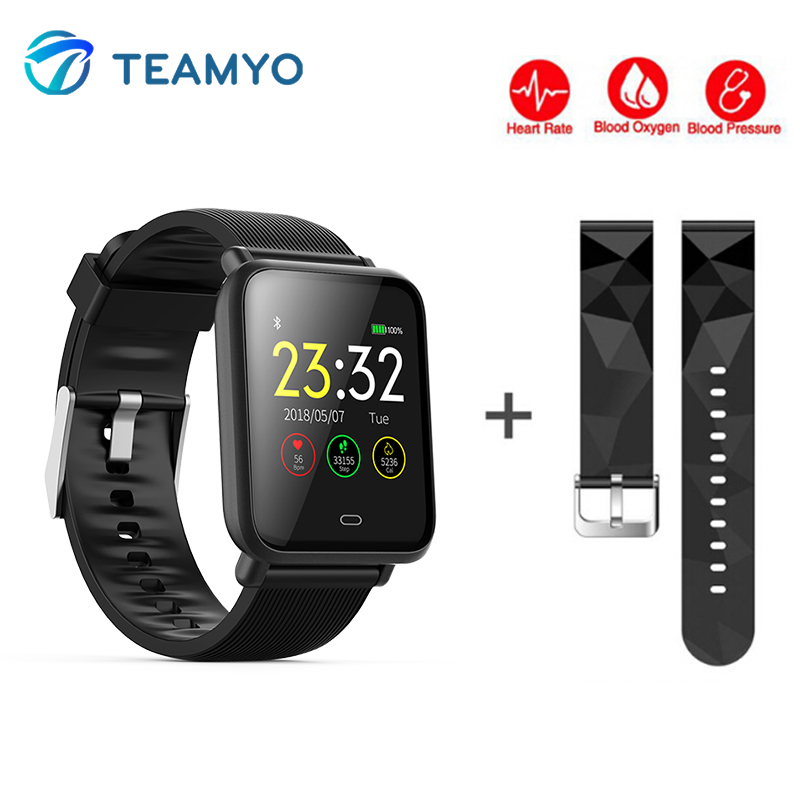 Smart Band Fitness Tracker Heart Rate Monitor Blood Pressure Smart Watch IP67 Waterproof Smart Wristband for Xiaomi Iphone Reloj