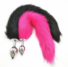 Metal Feather Anal Toys Fox Tail Anal Plug Erotic Anus Toy Butt Plug Sex Toys For Woman And Men Sexy Butt Plug Adult Accessories
