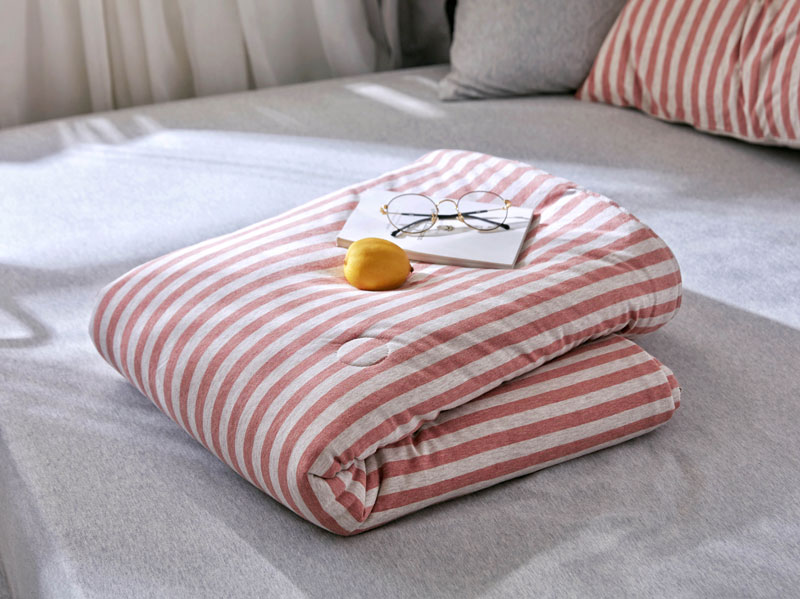 Reversible Throw Cotton Gauze Blanket Muslin Quilt Comforter knitted Bedding Quilted Coverlet Summer Breathable Bed