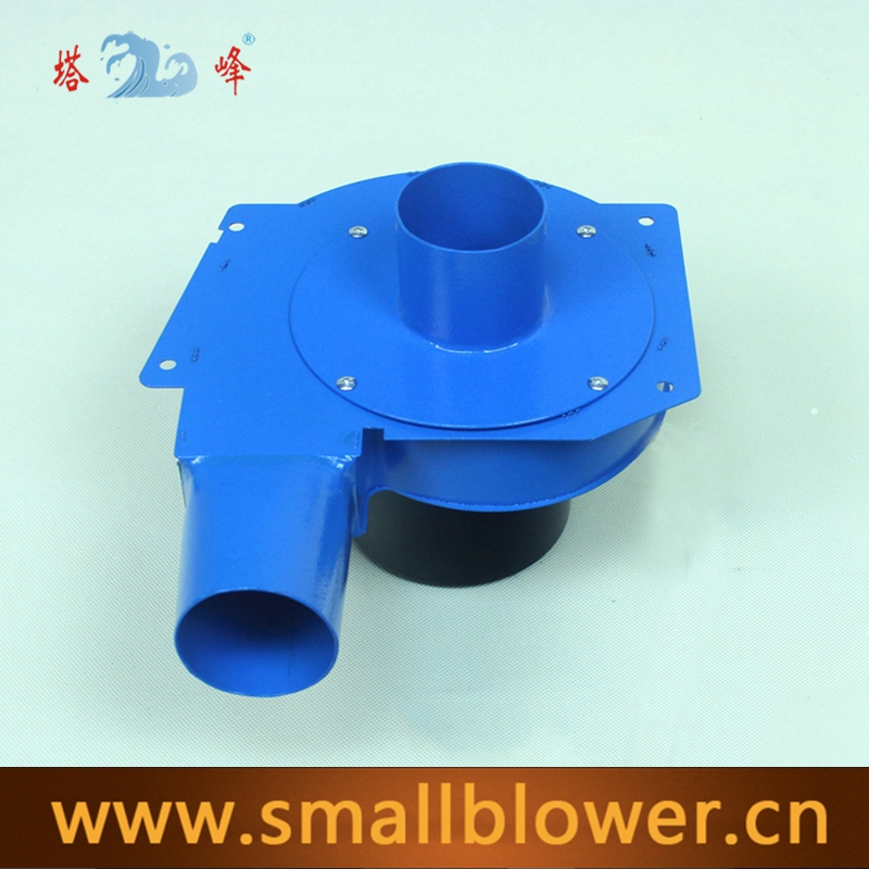 Buy 60mm duct small air electric hot air steel housing suction blower centrifugal fan 220v high temperature resistant
