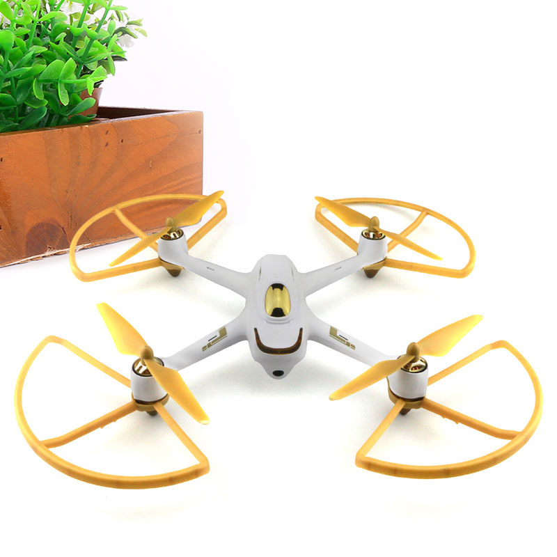 Gizcam 4pcs Plus <font><b>H501S</b></font> Prop Protection Cover protection ring for Hubsan <font><b>H501S</b></font> RC Drone Quadcopter Spare <font><b>Parts</b></font> image
