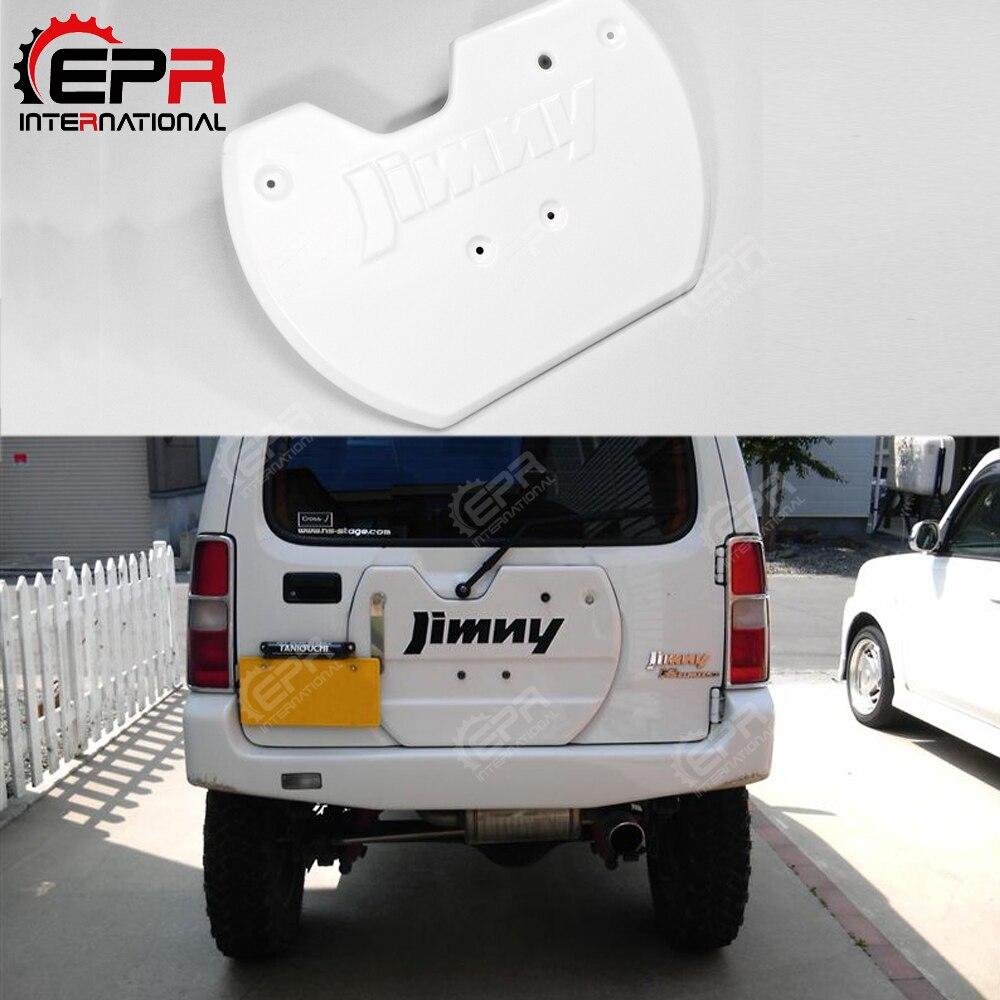 Per Suzuki Jimny (98-18) FRP In Fibra di Vetro di Ricambio Della Rotella Della Gomma Della Copertura Fit JB23 JB33 JB43 JB53 Body Kit Tuning