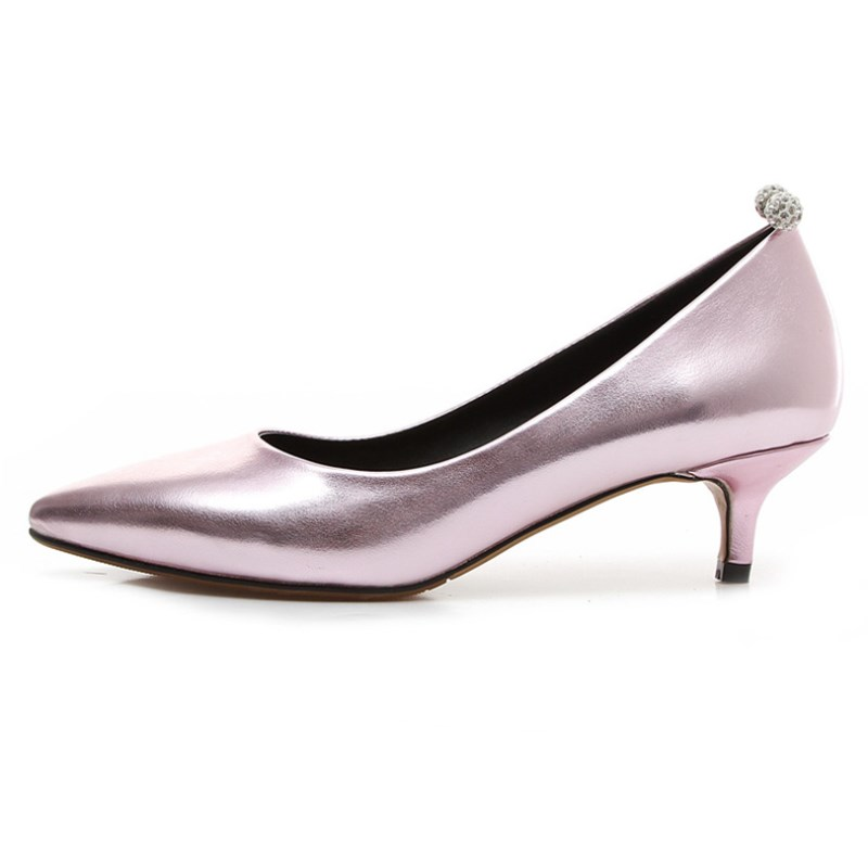Popular Kitten Heel Low Heel Pumps-Buy Cheap Kitten Heel Low Heel ...