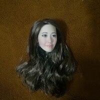 1/6 Korea Famous Star Yoona Head DIY Models for 12'' Figures Bodies