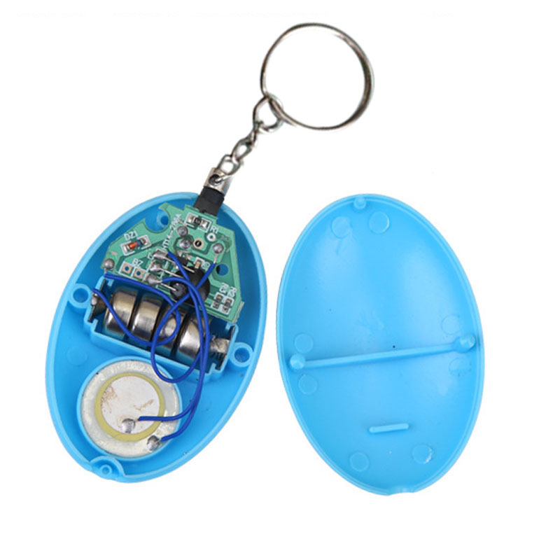 Self Defense Keychain Personal Alarm Emergency Siren Song Survival Whistle Device IJS998