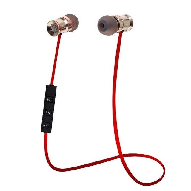Наушники Bluetooth 4.1 Наушники для iPhone Samsung Металл Гарнитура Беспроводная Стерео Музыку Гарнитура Hifi Оригинальный Smart Sports