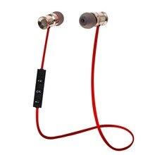 Earphones Bluetooth 4.1 Headphone for iPhone Samsung Metal Headset Wireless Stereo Music Handsfree Hifi Original Smart Sports